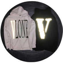 Load image into Gallery viewer, SUP & VLONE 3M REFLECTIVE HOODIE
