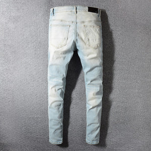 AMIRI RAINBOW PATCH DENIM