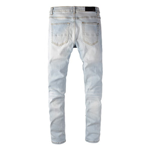 AMRI PATCH DENIM -SKY BLUE