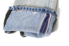 Load image into Gallery viewer, Destroyed Ripped Denim