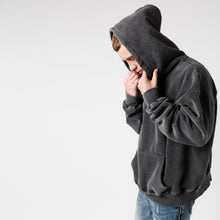 Load image into Gallery viewer, HOODIE - WASHED BLACK