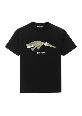 SUP & PALM ANGELS CROCO TEE
