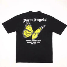Load image into Gallery viewer, SUP & PALM ANGELS BUTTERFLY TEE