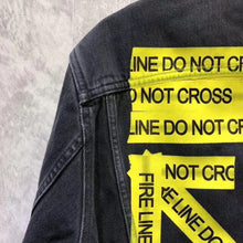 Load image into Gallery viewer, OW Cross Denim Jacket