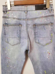 AMRI PATCH EMBROIDERY DENIM