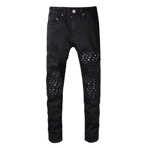Amiri Ripped Denim