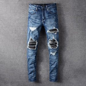 AMRI BIKER DENIM