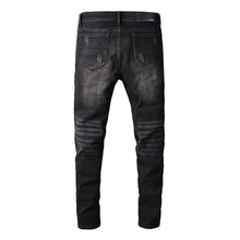 Load image into Gallery viewer, AMRI BIKER PATCH DENIM