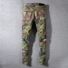 Load image into Gallery viewer, AMRI LEO PATCH DENIM -CAMO