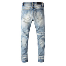 Load image into Gallery viewer, AMRI DIAMOND JEANS - BLUE
