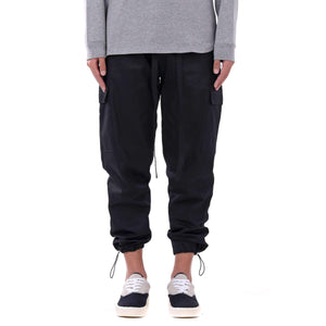 CASUAL CARGO PANTS - BLACK