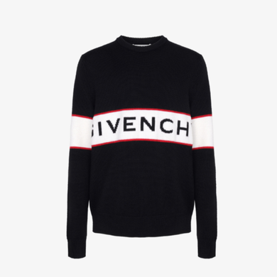 GVC STRIPED WOOL SWEATER