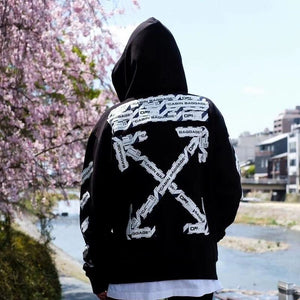 OW BAGGAGE ZIPPER JACKET