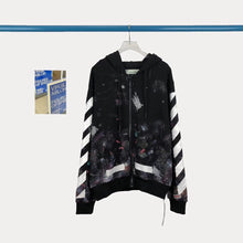 Load image into Gallery viewer, OW Galaxy Zipper Jacket