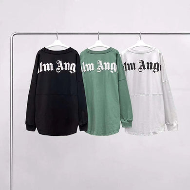 SUP & PALM ANGELS LONG SLEEVE TEE