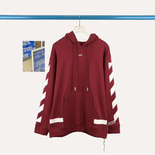 Load image into Gallery viewer, OW ARROW HOODIE - WINE