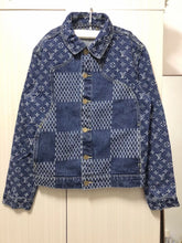 Load image into Gallery viewer, SUP & LV DENIM JACKET