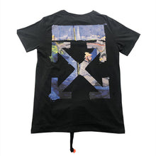 Load image into Gallery viewer, OW OIL PRINT TEE