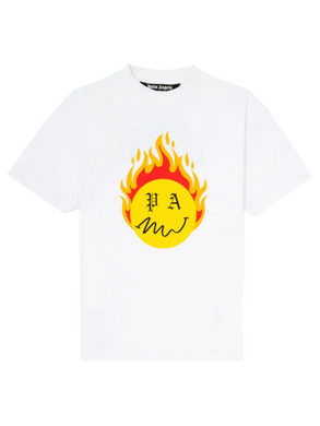 SUP & PALM ANGLES BURNING HEAD TEE
