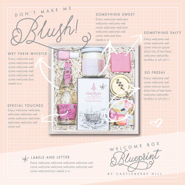 Make me blush blueprint