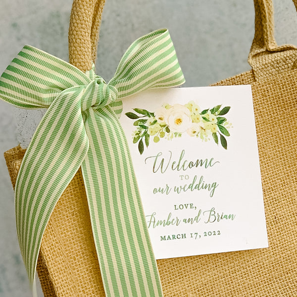 WELCOME BAGS