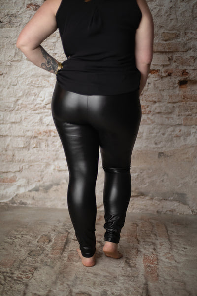 Lydia Faux Leather Leggings