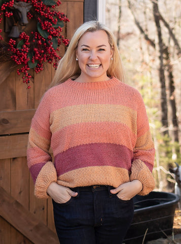 MaryBeth Striped Pullover