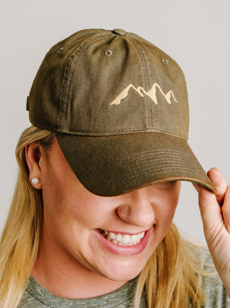 Mountain Outline Hat