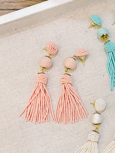Samantha Beaded Party Earrings