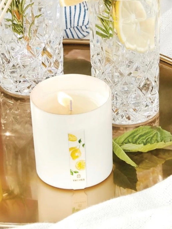 Lemon Leaf Coriander Candle