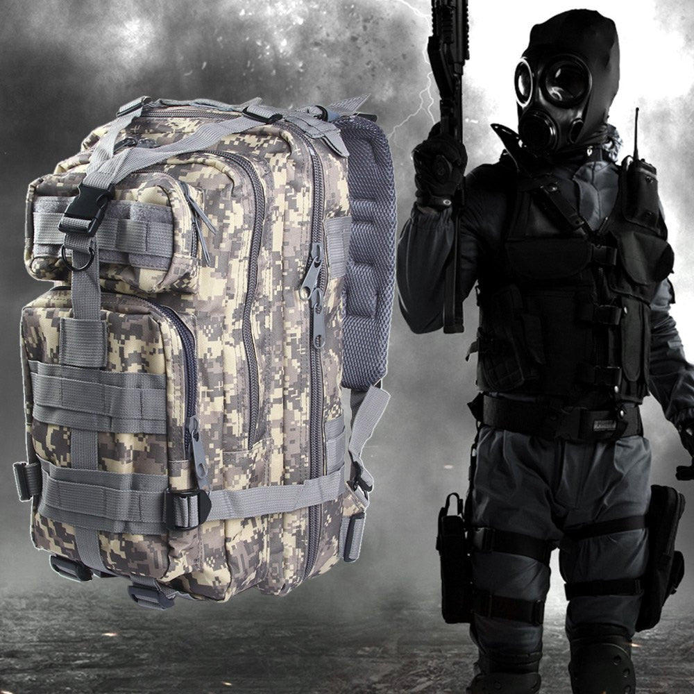 2fc53cce104 Military Tactical Backpack Camouflage Bag 30L for Camping Hunting Hiki –  B-Trendy Discount Outlet