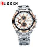 Luxury Men  Wrist Watches Full Steel