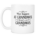 What Happen's at Grandma's, Stay's at Grandma's - Mug