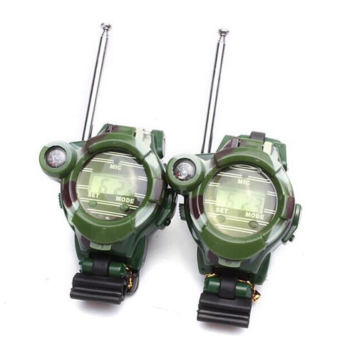 2PCS - Fun Children Walkie Talkie Watches