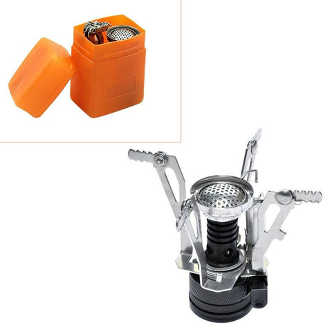 Portable Outdoor Gas Stove (Foldable Mini Stove)