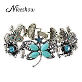 FREE Retro Style Butterfly Antique Bracelet