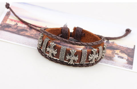 Trendy Leather Bracelets for both Men & Women! - FREE Shipping!!
