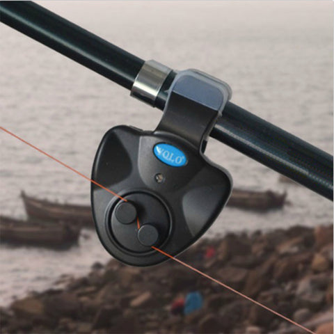 electronic fish bite alarm & led light fishing rod attachement – b, Fishing Gear