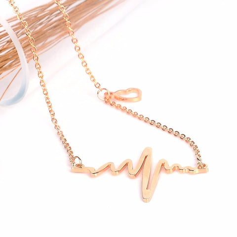 Heartbeat Necklaces (3 Colors To choose from)