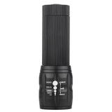High Powered 2000 Lumen LED Tactical Flashlight with Adjustable Zoom & Lighting Modes