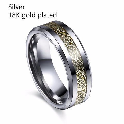 Tungsten Steel Ring  - 4 Color Styles to Choose from  (FREE SHIPPING)!!!!