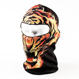 3D Print Balaclava Headgear for Outdoor Sport, Motocycle, Skiing, Biking, Hiking & More
