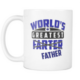 World's Greatest Farter (Father) - Mug