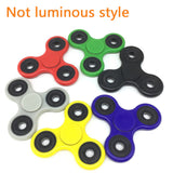 LED Finger Spinner Fidget &  Plastic  Spinner For Autism, ADHD Relief, Focus, Anxiety, Stress, or Fun