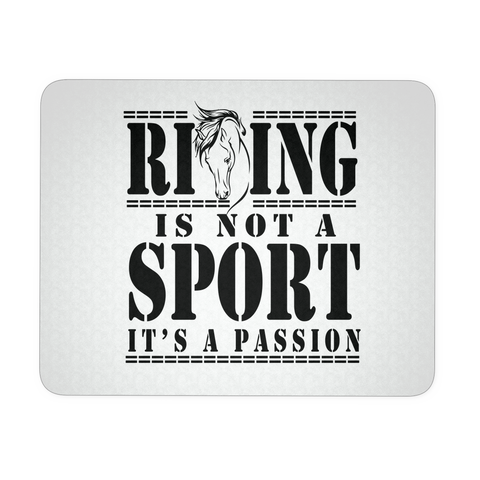 Riding is a Passion - Mouse Pad