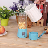 Portable 380ml USB Electric Handheld Smoothie Maker-  Rechargeable 4 Colors