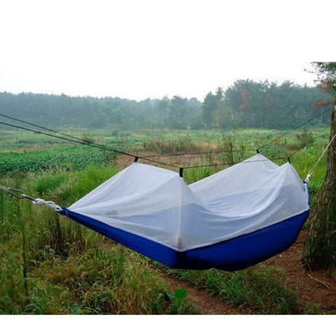 portable high strength parachute fabric camping hammock hanging bed with mosquito   sleeping hammock     portable high strength parachute fabric camping hammock hanging      rh   b trendydiscountoutlet