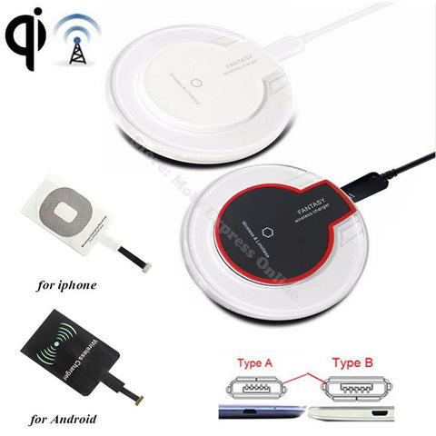 Wireless Charging & Qi Receiver Samsung / Iphone