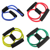 Resistance Training Muscle Elastic Band Tube Weight Control Fitness Equipment For Yoga Multicolor Durable