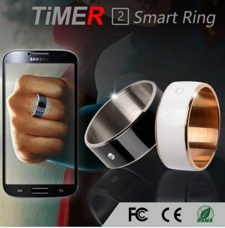 Cool Smart Ring Wearable Technology - For iphone, Samsung, HTC, Sony, LG